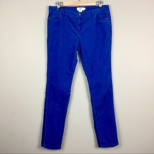 Vineyard Vines blue corduroys 10 skinny